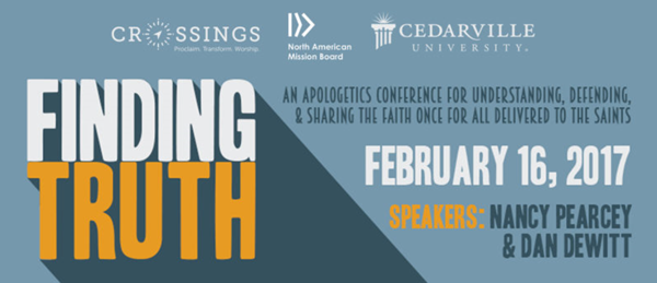 Finding truth conference header