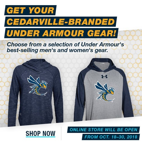 Under Armour store ad