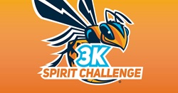 Yellow Jacket with 3K spirit challenge on it