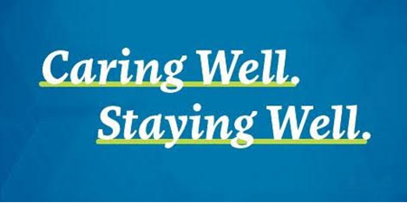 Caring Well Staying Well graphic