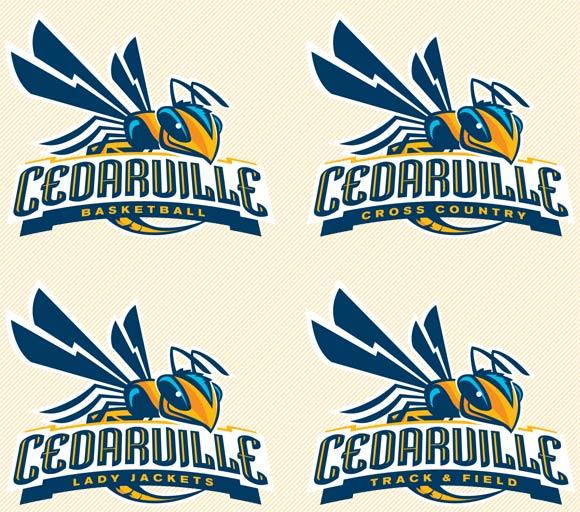 athletic logo guide - creative services - cedarville university