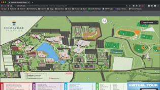 Map of campus