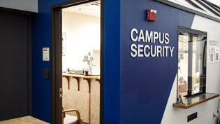 Campus security office