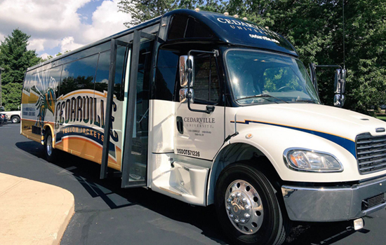 New buses for Cedarville University's athletic department