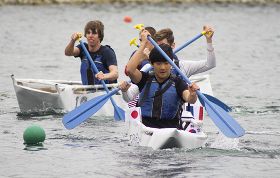 The 22nd annual Cardboard Canoe Challenge takes place this weekend.