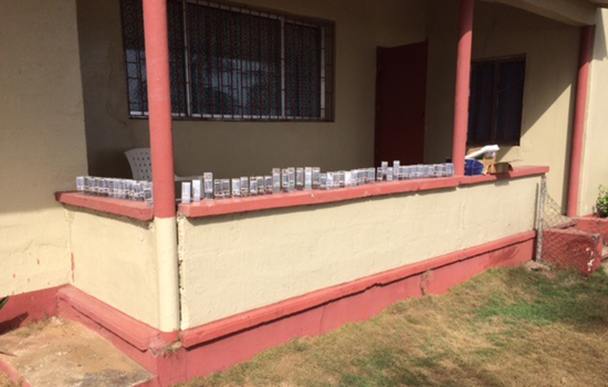 Solar lights for Liberian pastors