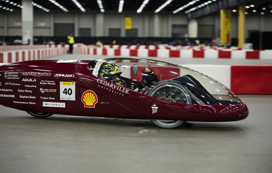 Shell supermileage car