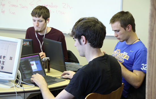 Students partake in Code-a-thon competition