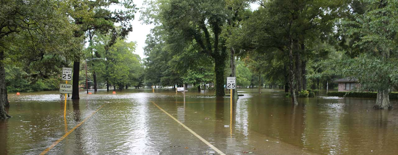 Picture of flooding.