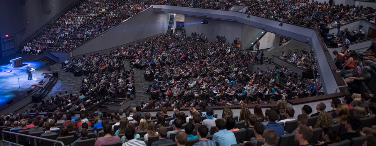 Cedarville University chapel service