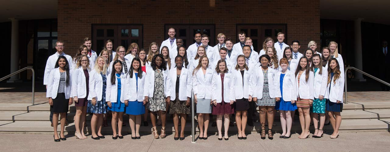 Students attending the Global Missions Health Conference