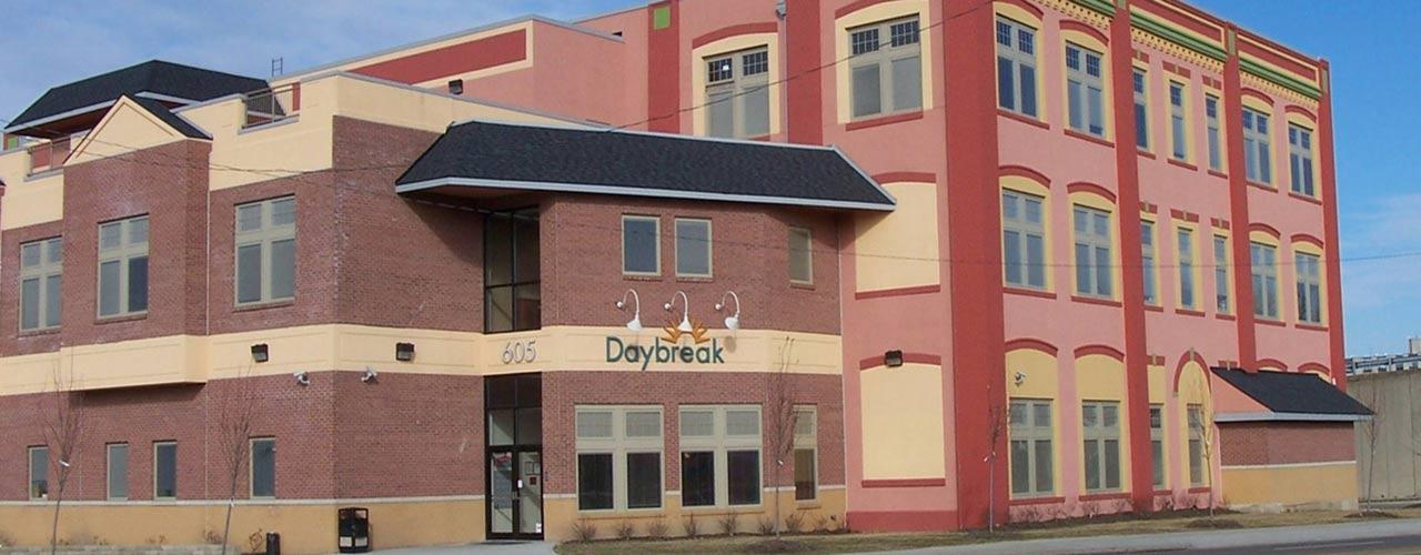 Daybreak youth shelter in Dayton.
