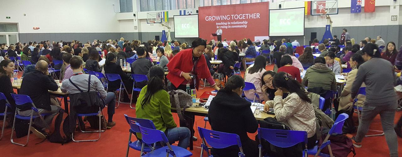 main session at International Schools China conference