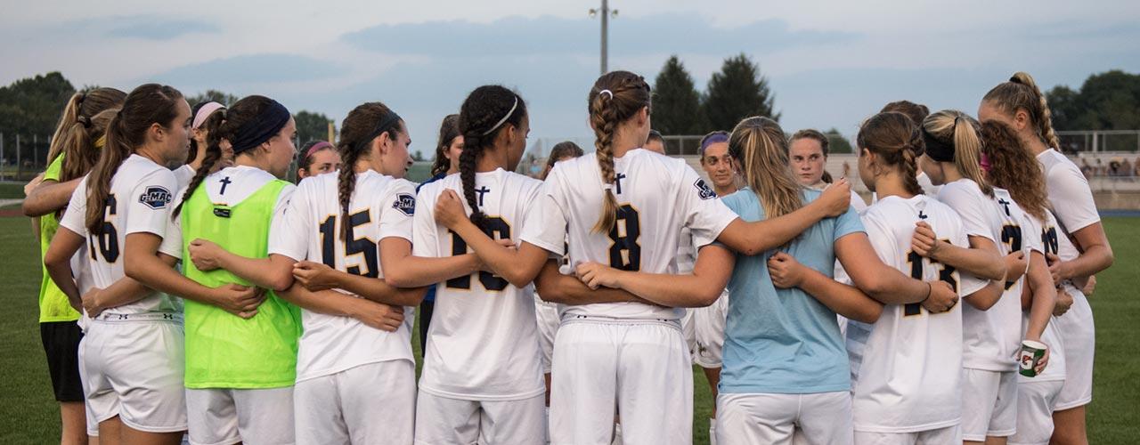 Cedarville womens soccer team