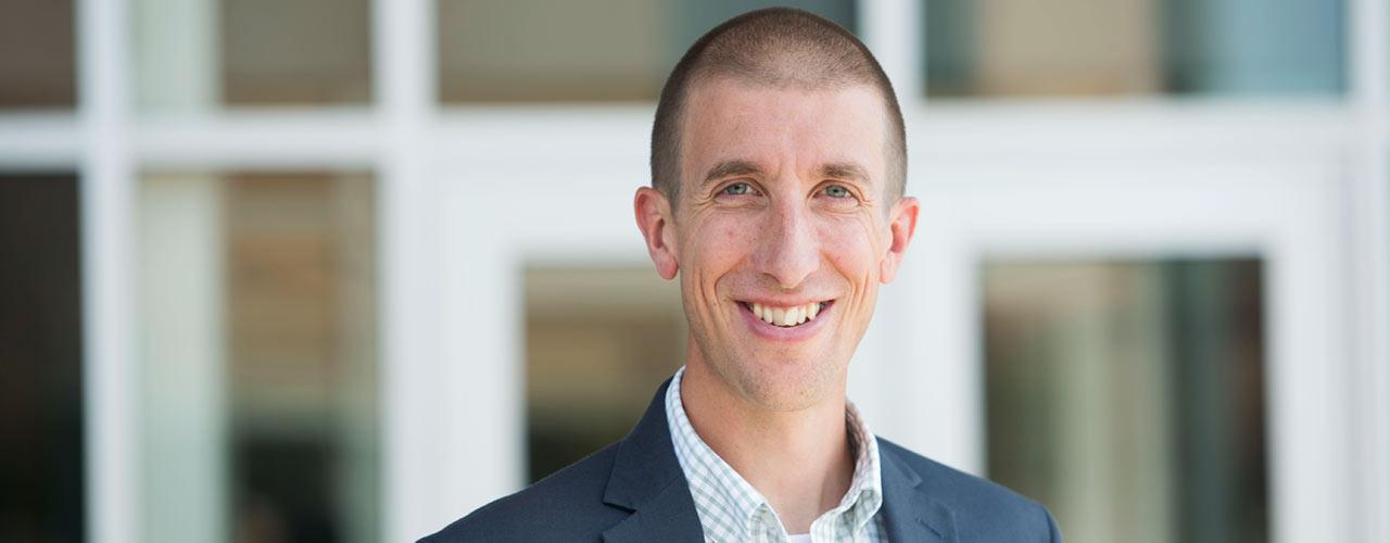 Portrait of Jeremy Kimble
