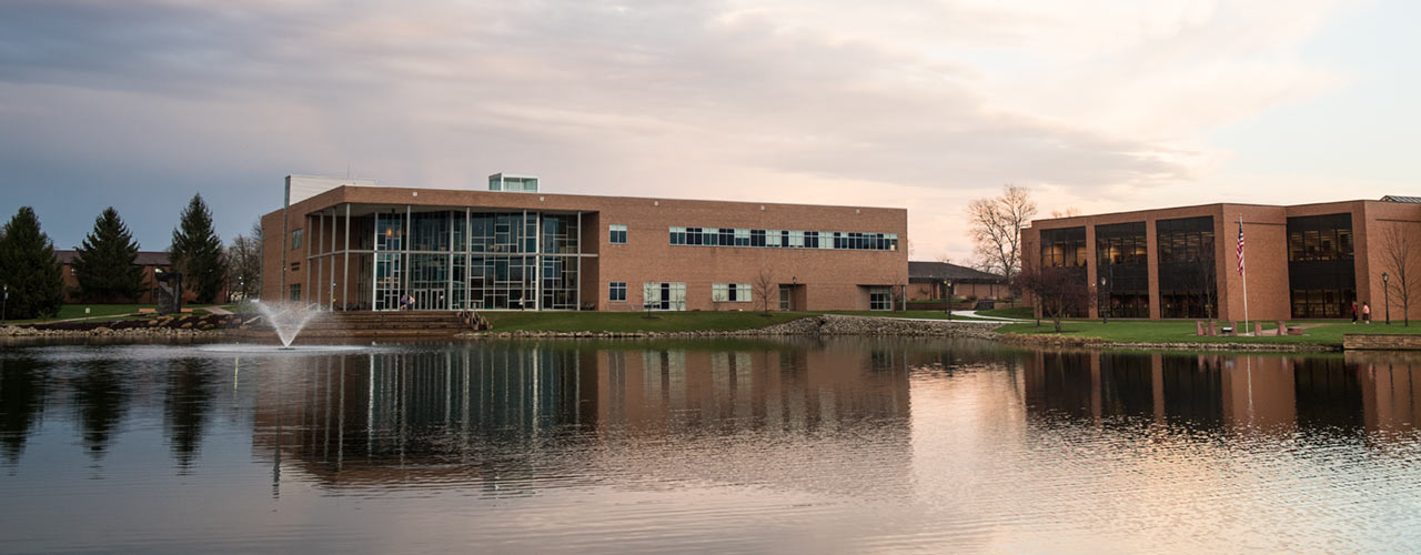 Picture of Cedarville University campus
