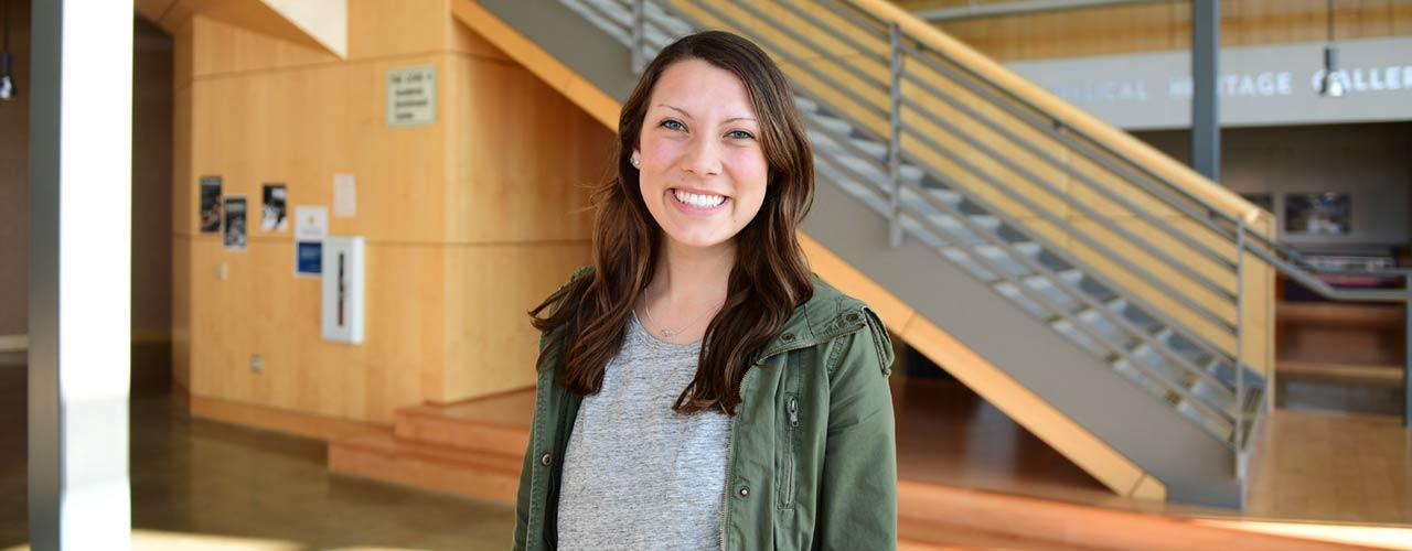 Cedarville University student Heidi Vizino