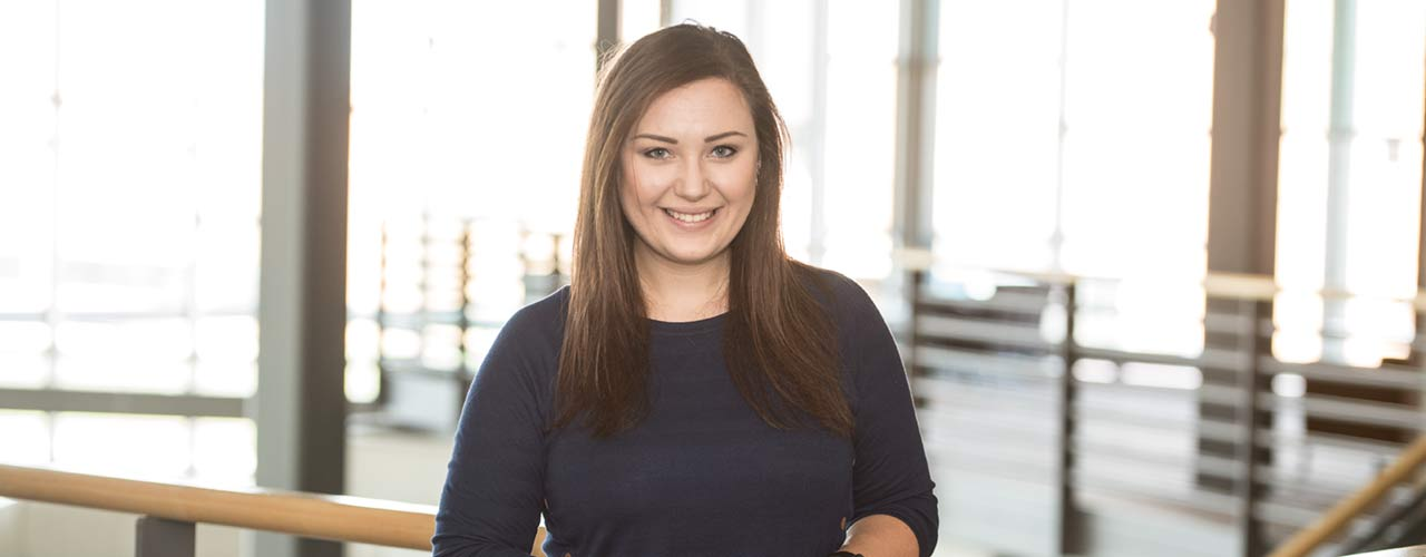 Cedarville University junior psychology major Megan Orr