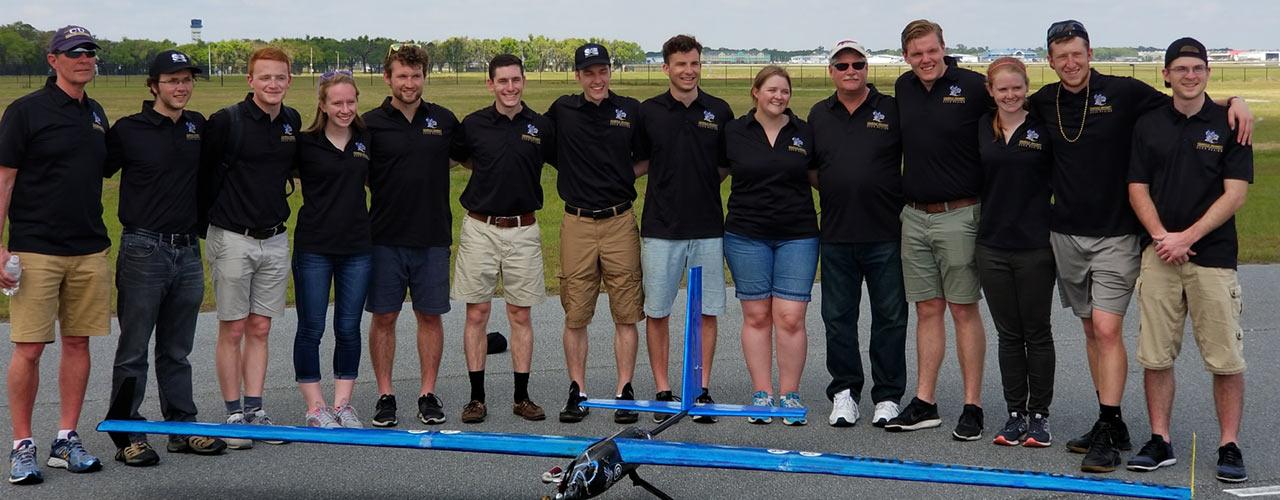 Cedarville seniors part of SAE Aero Design 4th place team