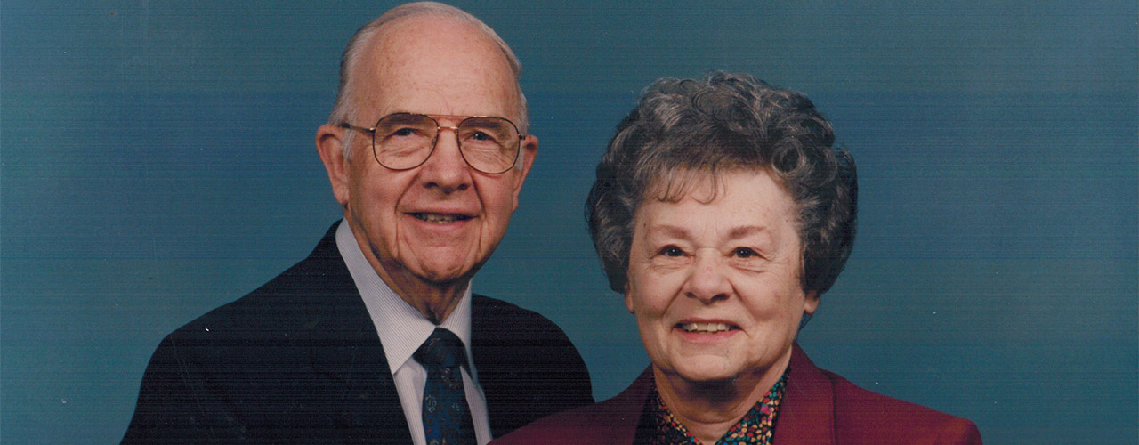 Roger and Charlotte Kuriger