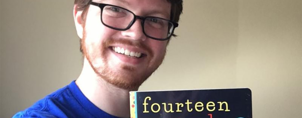 "2012 Cedarville University industrial design grad Gabe Pyle is making a splash with his children's book, ""Fourteen Animals (That Are Definitely Not an Octopus)."""