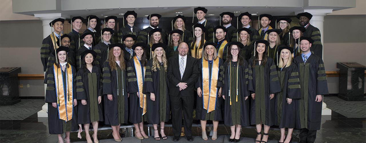 School of Pharmacy graduating class 2018
