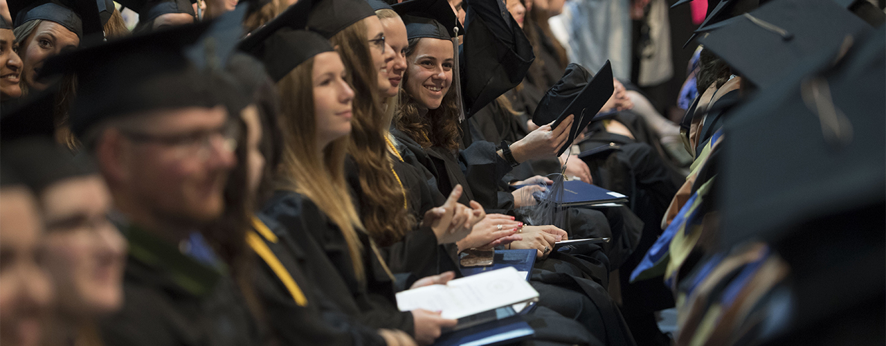 Cedarville's class of 2018 had a remarkable 98.4 percent of graduates employed or in grad school six months after commencement.