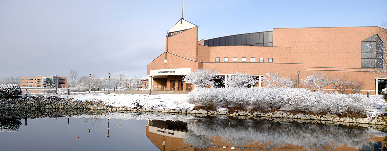 Bestcolleges.com ranked Cedarville the best Christian college in Ohio.