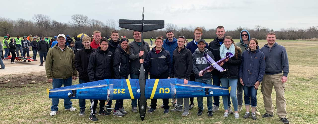 Cedarville Aero Design team 2019