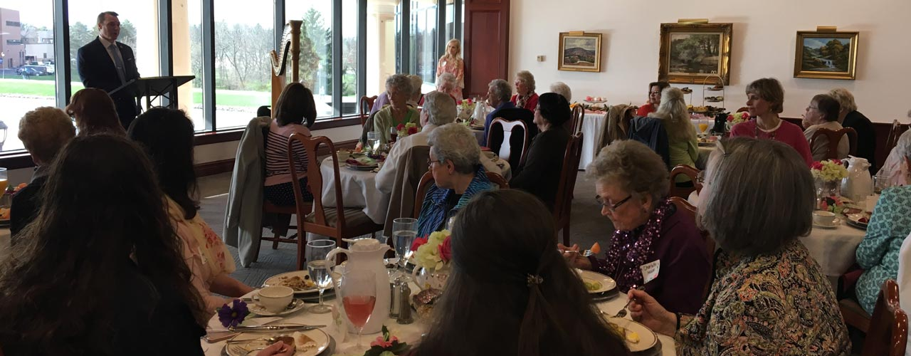 CU Women's luncheon for local widows