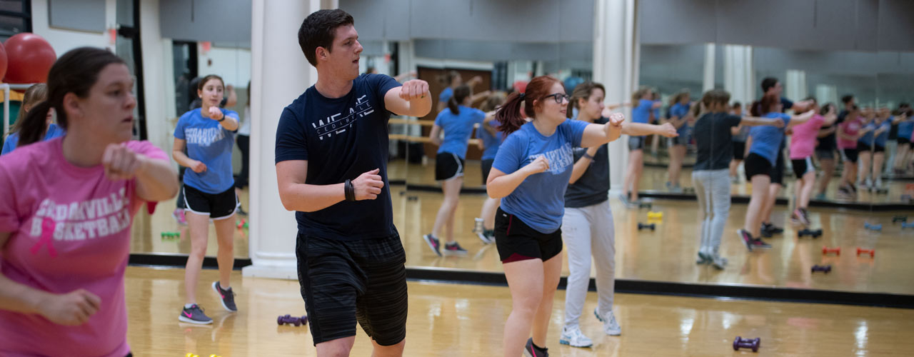 Cedarville exercise class