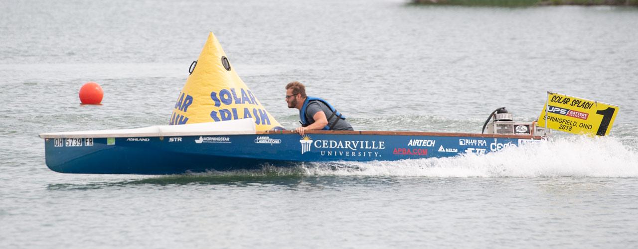 Solar boat 2018