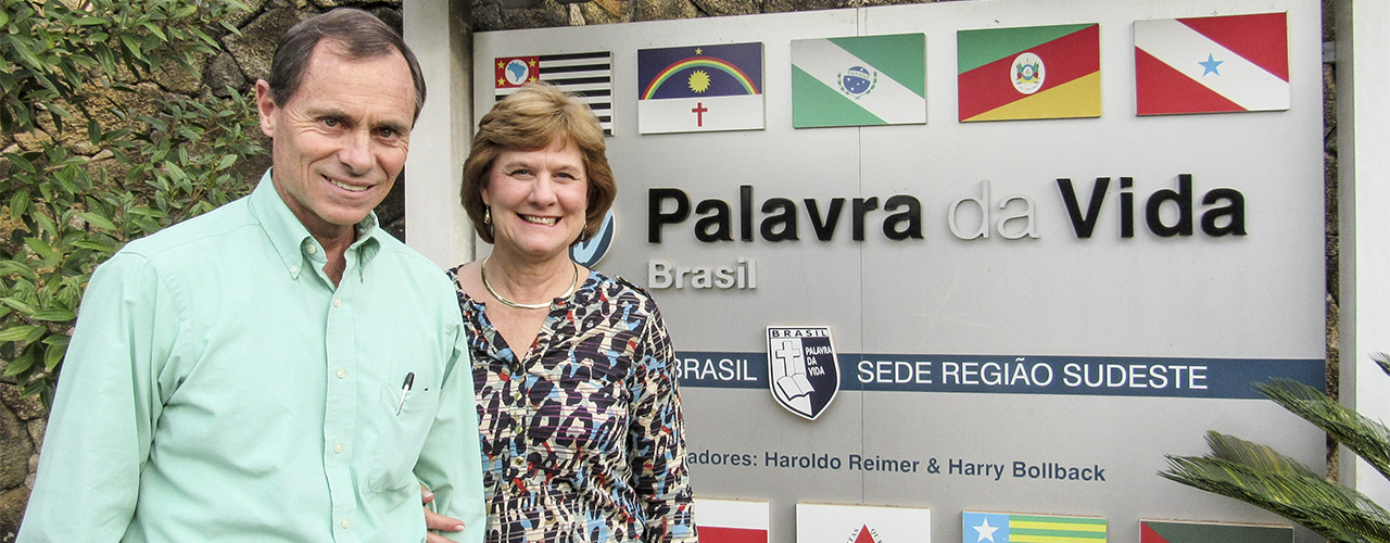 Cedarville University alumni David and Cindy (Ulmer) Cox serve with Word of LIfe in Brazil.