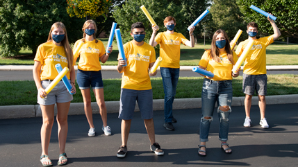 Sting team ready to welcome students back to Cedarville.
