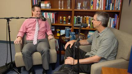 Dr. Glenn Duerr and Mark Weinstein