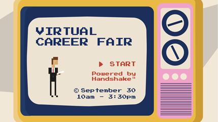 Fall Virtual Career Fair logo
