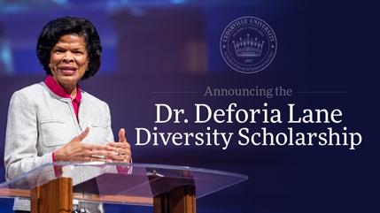 Dr. Deforia Lane Diversity Scholarship