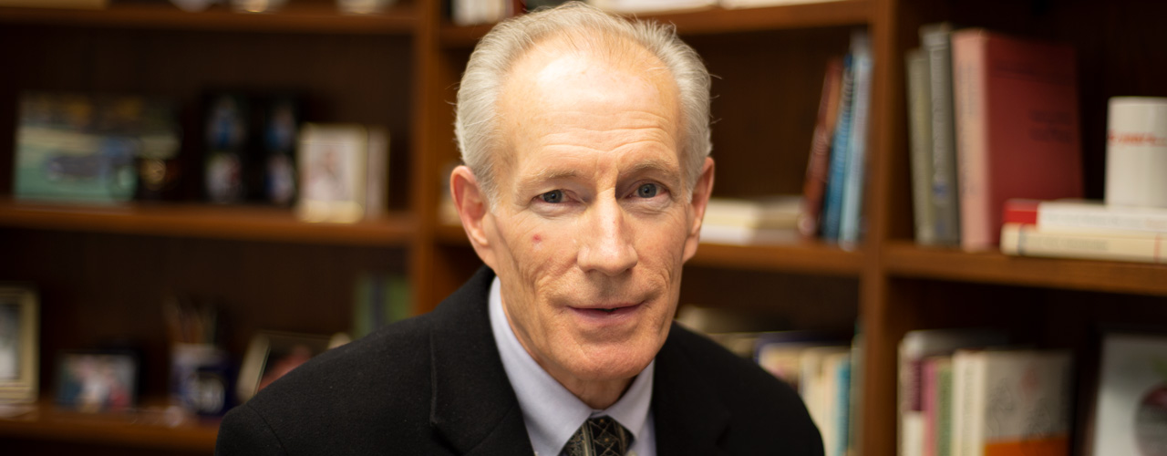 Social Work Professor George Huff