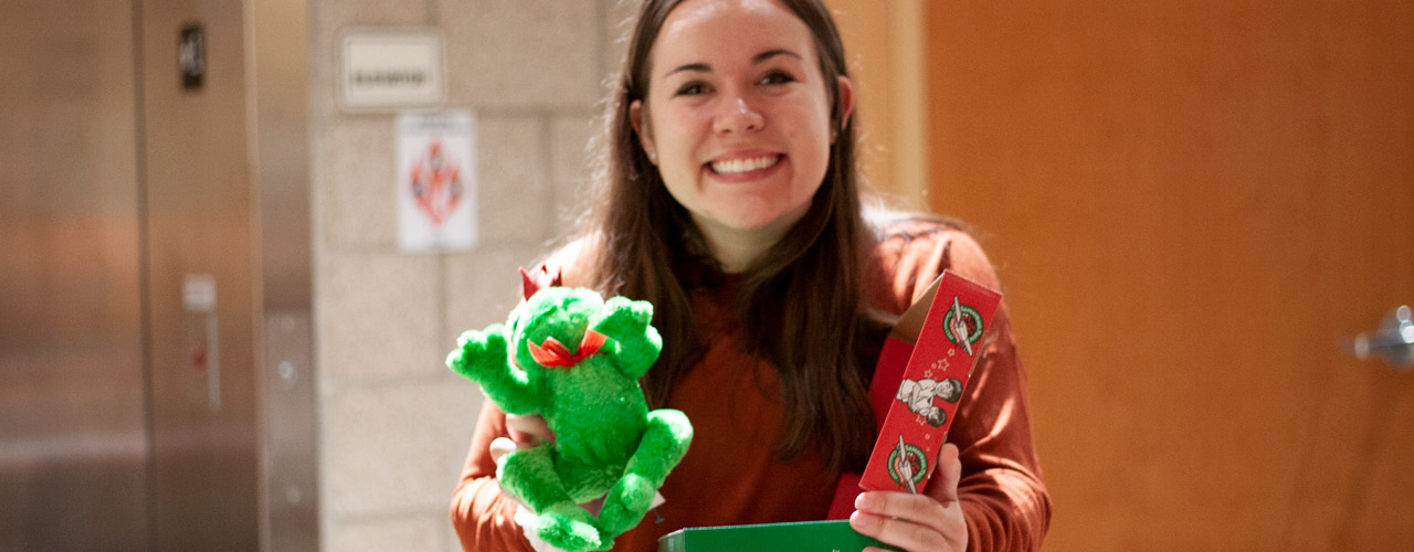 Cedarville University's Operation Christmas Child student organization is planning on packing 1,000 boxes that will be Christmas gifts for children around the world.