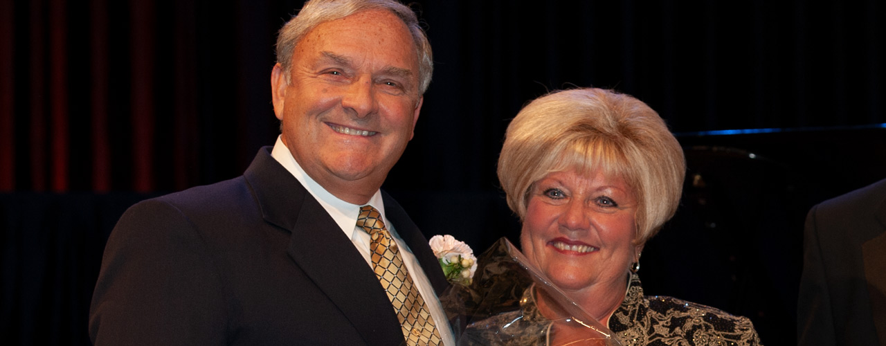Dr. Lyle Anderson and Professor Connie Anderson