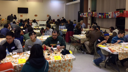Campus Bible Fellowship Thanksgiving