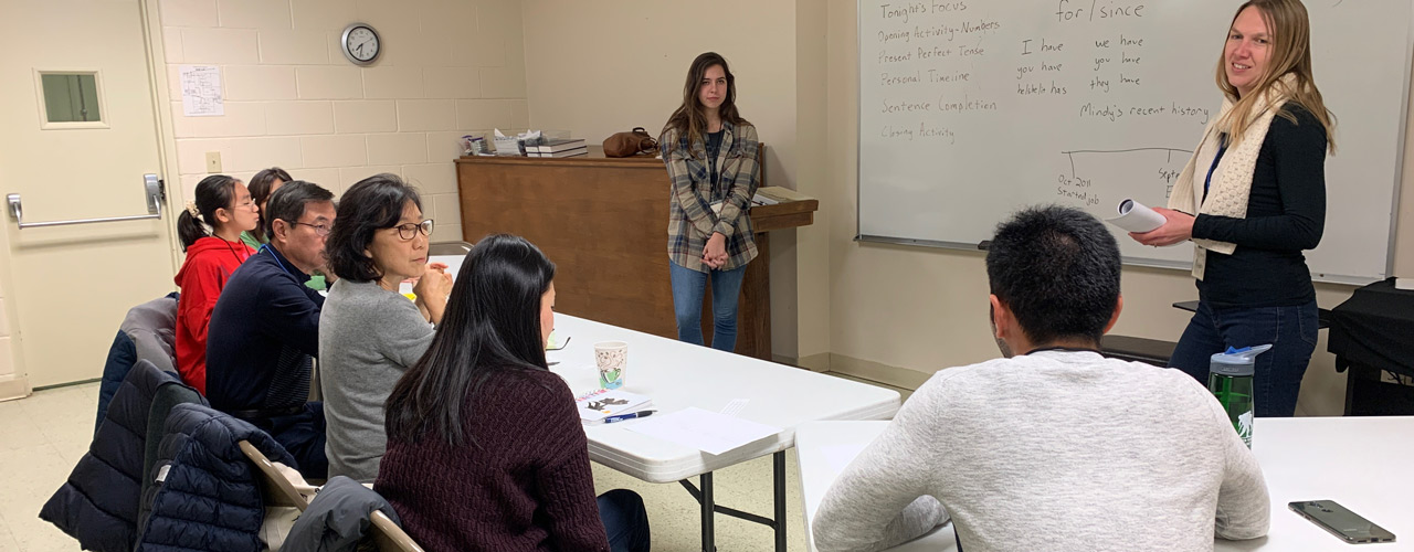 English as a Second Language classes at Redeemer Orthodox Presbyterian Church in Beavercreek, Ohio.