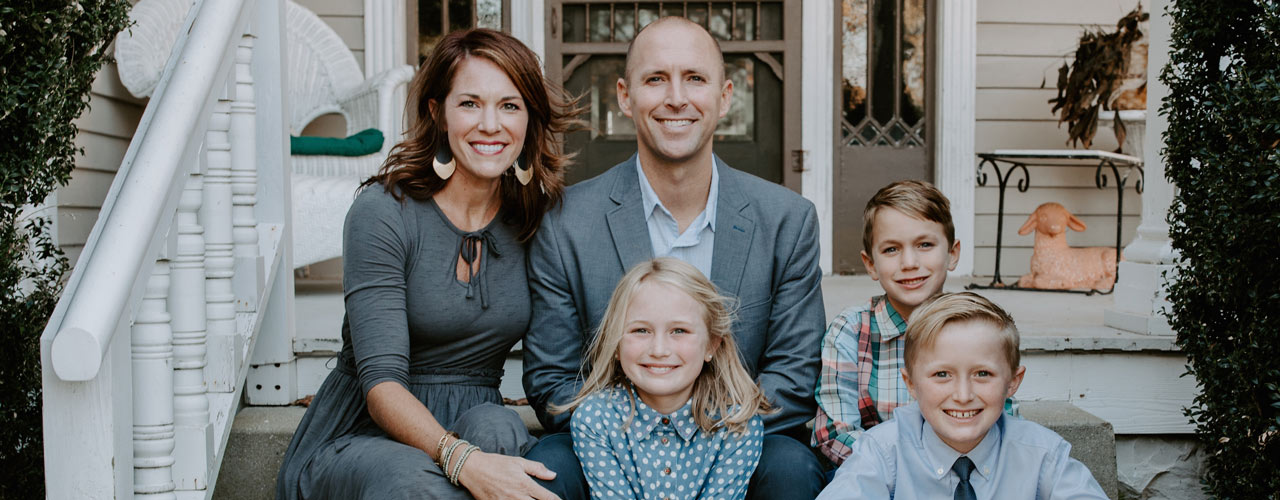 Jedidiah Coppenger and family