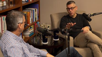 Mark Weinstein and Dan DeWitt