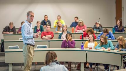 Dr. Jeremy Kimble teaching