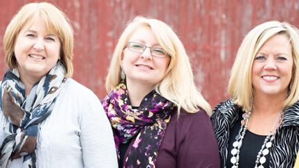 Becky Kuhn, Deidre Sizer, and Kim Ahlgrim from The Cove.