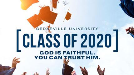 Class of 2020 celebration webpage
