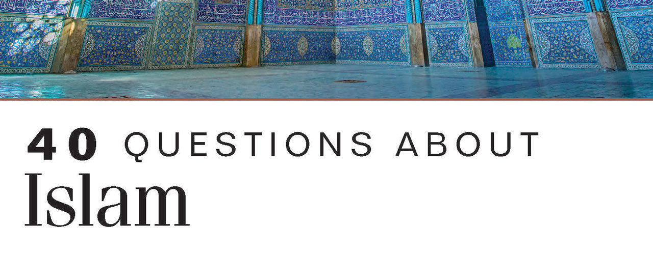 40 Questions About Islam book cover