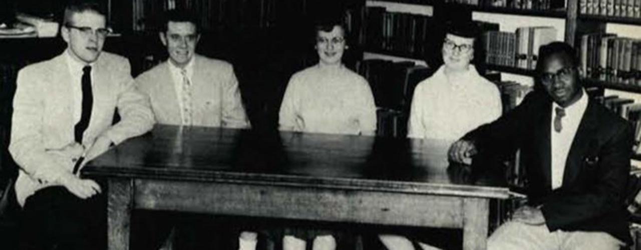 James D. Parker, Sr., as sophomore class chaplain