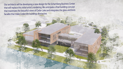 Artist's rendering of Scharnberg Business Center